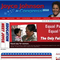 political campaign web design